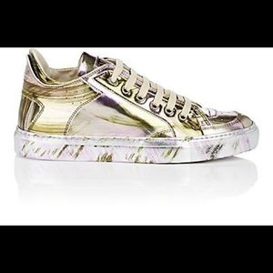 New MM6 Maison Margiela's Silver Sneakers 36